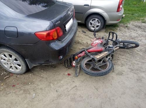 «…и мотор ревёт!» В Пластовском районе – очередная авария с участием мопеда
