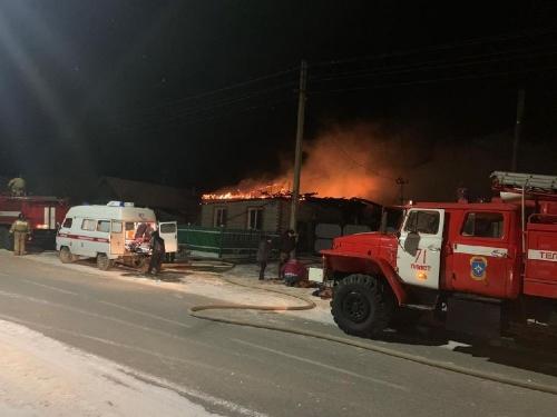 Тревожное воскресенье. Пожар в Пласте унёс жизни четырёх человек