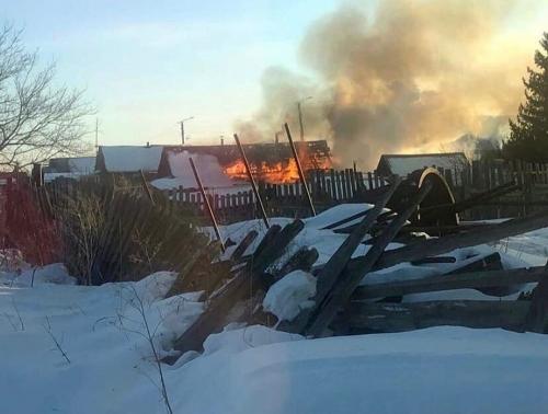 Было жарковато. В феврале в Пластовском районе без пожаров не обошлось