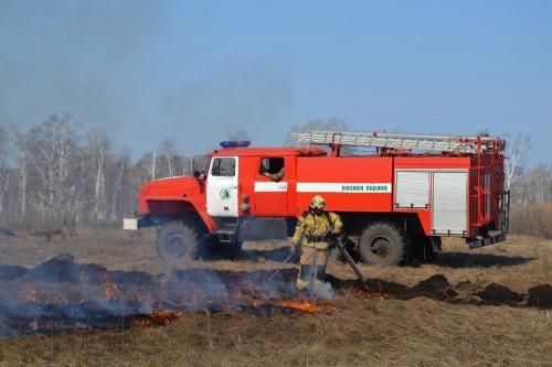 Горячая страда. В Пластовском районе заполыхали первые лесные пожары