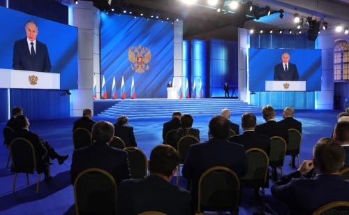 Разговор о главном. Владимир Путин обозначил основные векторы развития страны